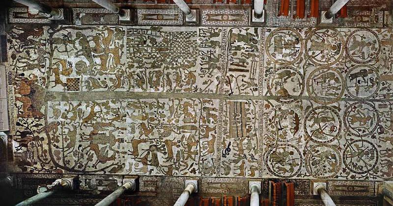 Risultati immagini per Mosaico di otranto