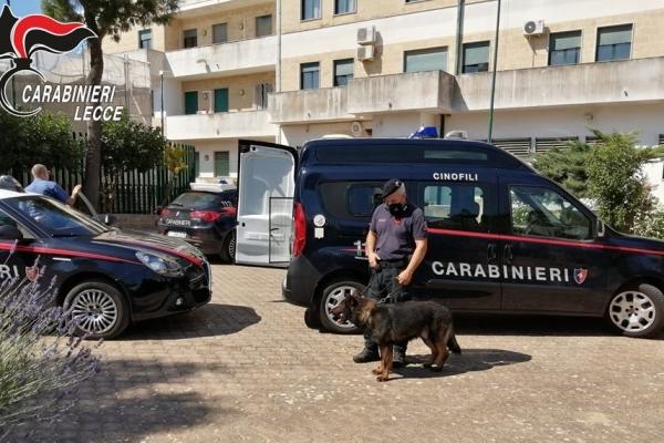 Due denunce per possesso di droga a Copertino e Cutrofiano